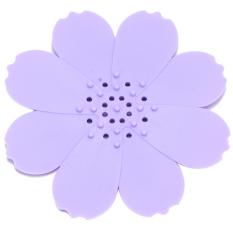 Yingwei Soap Box Soap Holder Non-slip Purple