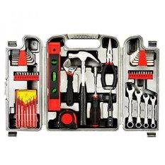 ... Hardware Tool Kit Source · Yuanshikj Precision Tools General 53 Piece Tool Set Homeowners Kit Toolbox Household Hand Plastic Storage Case