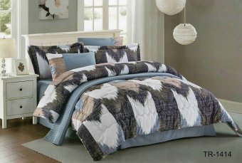 Yume Bedcover Set Import-Cendira [King Size / 180 X 200 X 40 Cm] YM001009