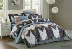 Yume Bedcover Set Import-Cendira [Queen Size / 160 X 200 X 40 Cm] YM001008