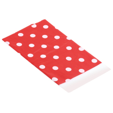 Zhouda Red Polka Dot Plastic Table Cover Disposable 70*42 Inch Disposable Tablecloth - Intl