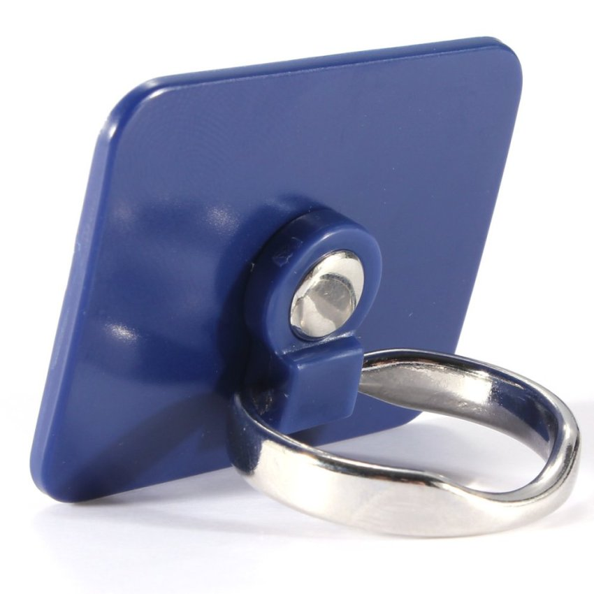 360 Degree Rotation 3D Ring Stand Mount Holder for Mobile Phone PDA Blue (Intl)