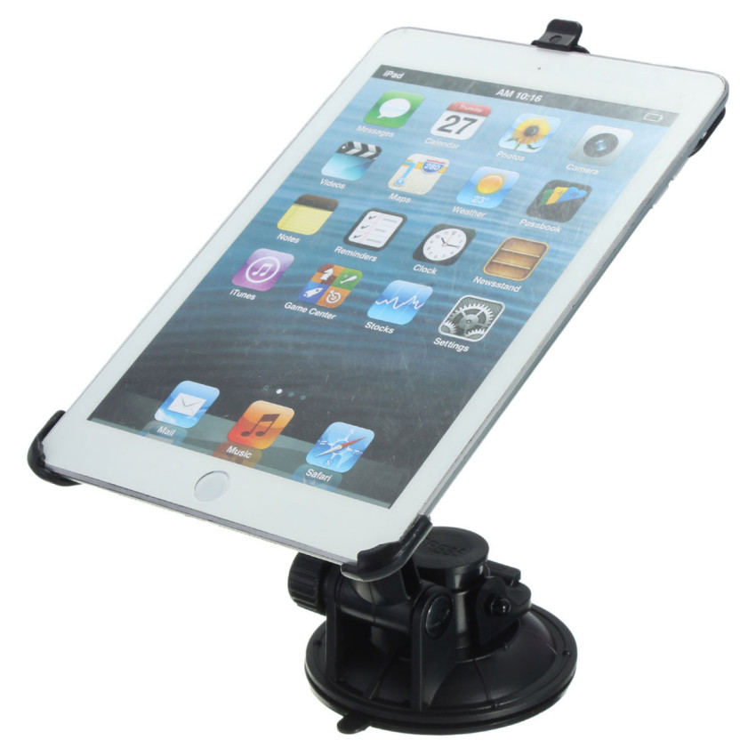 360° Car Mount Stand Holder Suction Anti Slip Cradle For iPad Mini 1 2 3 4 (Intl)
