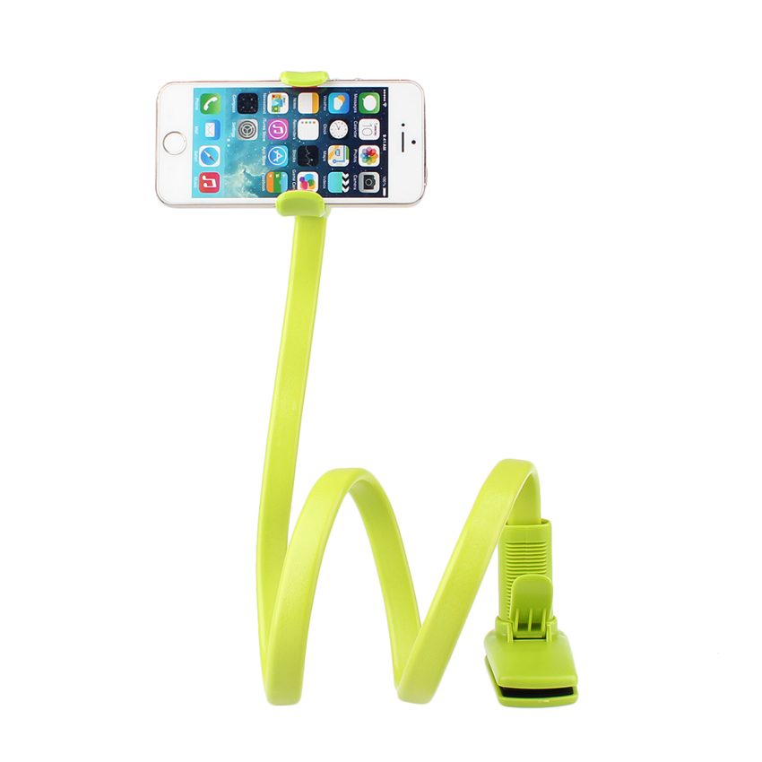 360° Lazy Phone Clip Long Flexible Holder Stand Bracket for iPhone6/6 Green (Intl)