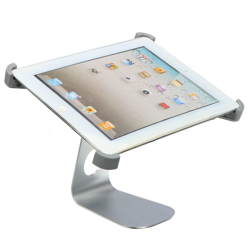 360° Rotatable Aluminum Alloy Table Desk Mount Stand Holder for iPad 2/3/4/5 (Intl)