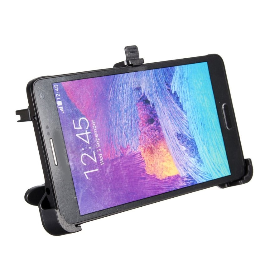 360° Rotating Car Air Vent Cradle Mount Holder For Samsung Galaxy Note 4 N9100 (Intl)
