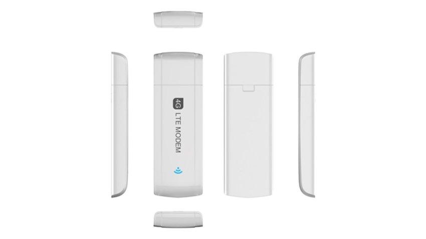 3G/4G LTE Modem 100Mbps Mobile Connect FDD TDD 4G USB Modem White (Intl)