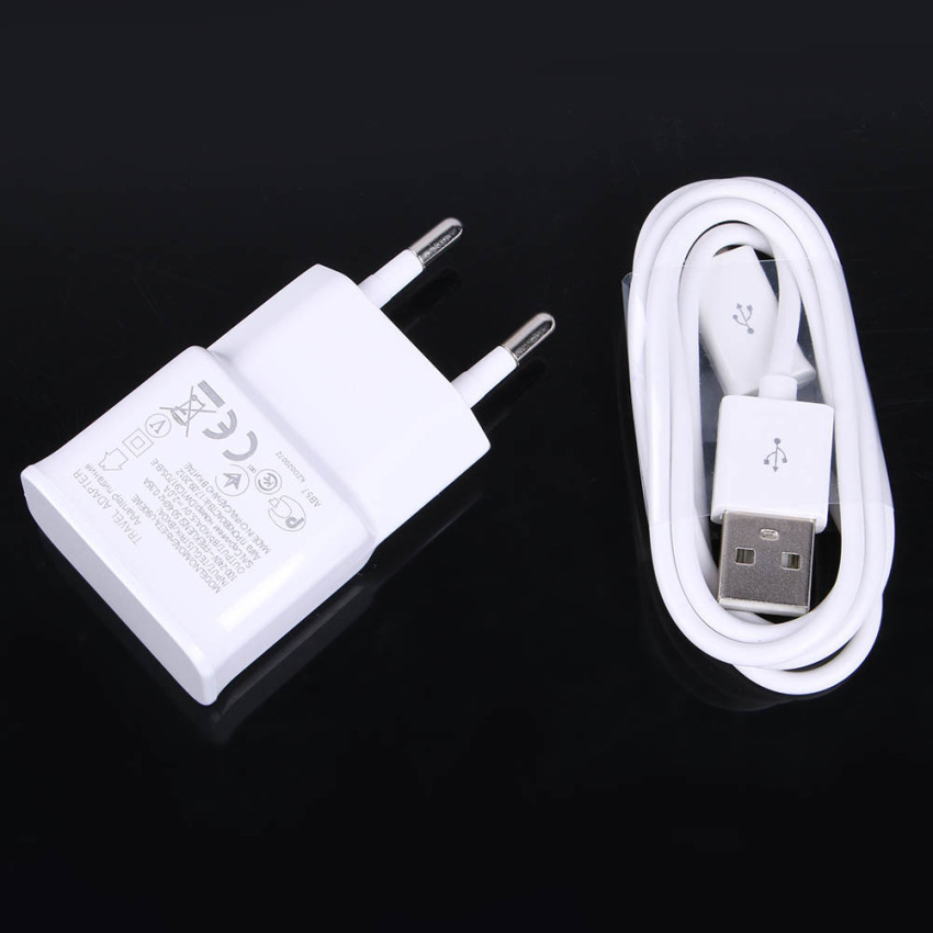 3usb European Regulatory Charger with Data Cable (White) (Intl)