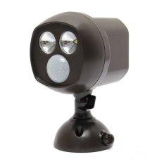 3W Super Bright Motion Detector Auto Sensor LED Wireless 10LUX Security Night Light (Intl)