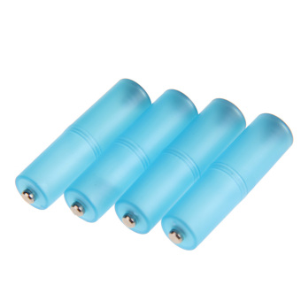 4 Pcs New AAA To AA Size Cell Converter Adaptor Holder Case Blue