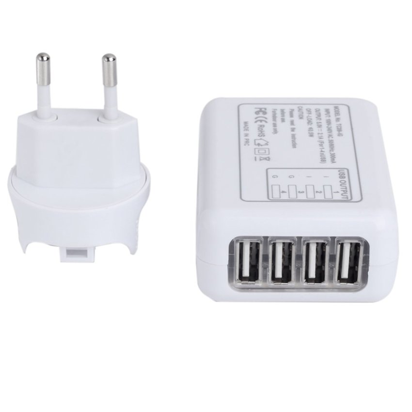4 USB charger EURO (Intl)
