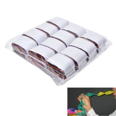 12 Coils/lot Multicolored Mouth Paper Magic Tricks Mouth Coils Colorful Paper Magic Prop Magic Toys 3.5*2.2cm - intl