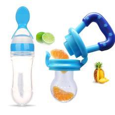 2PCS / Lot Pengisi Susu Bayi Makanan Segar Aman Memberi Botol Pacifier - intl