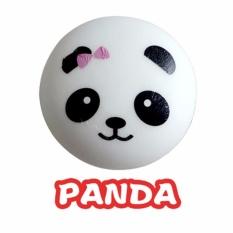 8.5cm Squishy Charms Buns Cell Phone Kawaii Jumbo Panda Strap Pendant - intl