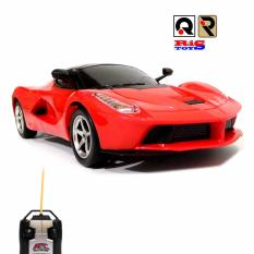 AHS RC Mobil LaFerrari Skala 1/24 Mainan Edukasi Anak Mobil Remote Control - Merah