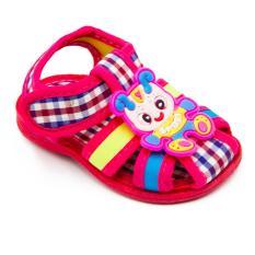 Alldaysmart Sepatu Sandal Anak Bayi 1607-100 Bunyi Decit Empuk - Red Size 15/20