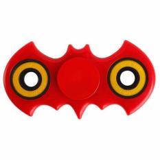 ANGEL - Fidget Spinner Bat-man Hand Toys Mainan EDC Focus Games Bartman - Merah