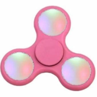 ANGEL LED Fidget Spinner Hand Toys Mainan Tri-Spinner EDC Focus Games Penghilang stress -