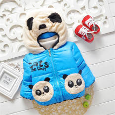 Baby Winter Cotton Coat Baby Girl CartoonThick Down Boy Outerwear Snow Wear Fleece .