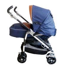 Babyelle New Polaris Stroller Single S-323 - Baby Elle Polaris Baby Stroller - Kereta Dorong Bayi - Biru