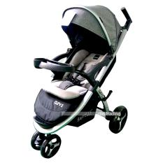 Babyelle Stroller Curv 2 S-700 - Baby Elle Curv 2 - Kereta Dorong Bayi - Abu2