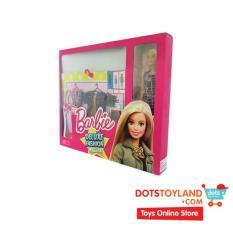 Barbie Deluxe Fashion Combo w/ Black Dress Doll