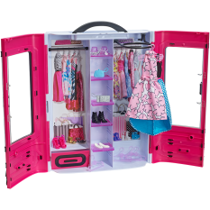 Barbie® Fab Fashion Closet - Pink