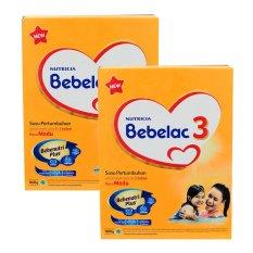 Bebelac 3 Bebenutri Plus Susu Pertumbuhan - Madu - 1800 gr - Bundle isi 2 Box