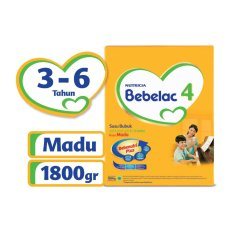 Bebelac 4 Bebenutri Plus Susu Pertumbuhan - Madu - 1800 gr