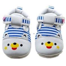 Biru Balita Panas Pada Bayi Baru Lahir Satu Satunya Sepatu Lembut Dan Slip .