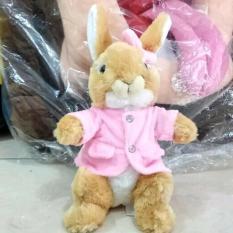 Boneka Kelinci Baju Pink