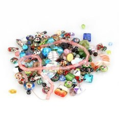 Bulk Sale Glass Charm Spacer Beads Loose Finds Bracelets Wholesale Lot