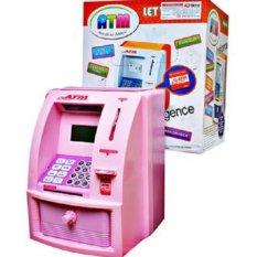 Celengan ATM Besar Pink