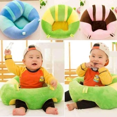Colorful Baby Support Seat Learn sit Soft Chair Cushion Sofa Plush Pillow Toys - intl