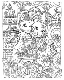 LinkedCreative Haven Creative Cats Coloring BookCreative Books For AdultsCreative Beautiful Angels Book Dover