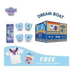 [DREAM BOAT BOX] Pokana Super Pants Boy L26 isi 4 + FREE Matching T-shirt and sticker