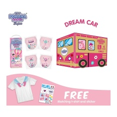 [DREAM CAR BOX] Pokana Premium Pants Girl L26 isi 4 + FREE Matching T-shirt and sticker
