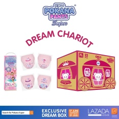 [DREAM CHARIOT BOX] Pokana Super Pants Girl XL22 isi 4 + FREE matching sticker