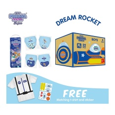 [DREAM ROCKET BOX] Pokana Premium Pants Boy XL22 isi 4¬Ý+ FREE Matching T-shirt and sticker¬Ý