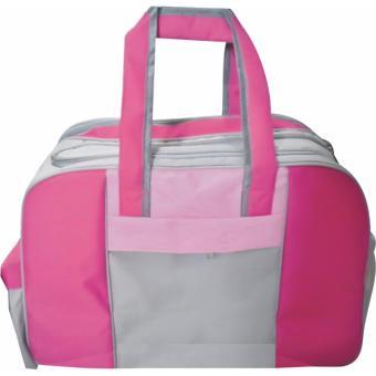 EMWE Travel Baby Bag Organizer Large Tas botol susu bayi balitaDiaper travell - Magenta pink