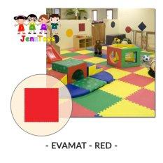 Evamat - Polos / Matras / Tikar / Karpet / Puzzle Alas Lantai Evamat - Red