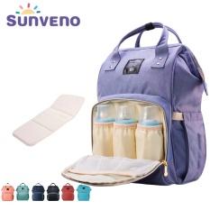 Fashion Maternity Mummy Nappy Bag Brand Large Capacity Baby Bag Travel Backpack Design Nursing Diaper Bag Baby Care - intl