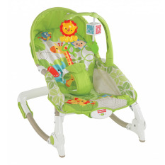 Fisher Price Bouncer Newborn to Toddler Rocker Asia - Hijau