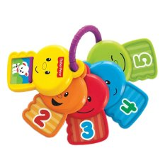 Fisher Price Count & Explore Keys - Mainan Bayi - Multiwarna