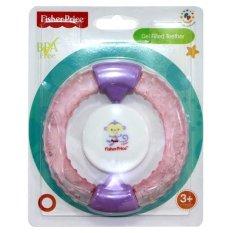 Fisher Price Gel Filled Teether Bayi Warna Pink Dengan Rattle Atau Krincingan Mainan Gigitan Bayi Yang Aman Untuk Usia 3 Bulan ke Atas Free Ongkir