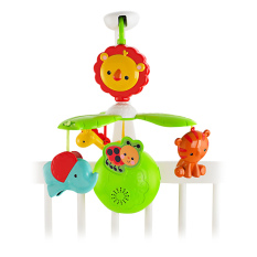 Fisher Price Grow-with-me Mobile - Mainan Bayi