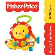 Fisher Price Musical Lion Walker - Kuning