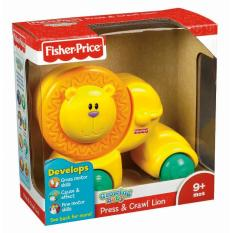 Fisher Price Press Crawl Lion