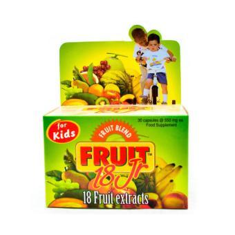 Fruit 18 Jr Junior 30's - Multivitamin Buah Anak, Meningkatkan Daya Tahan Tubuh Anak,