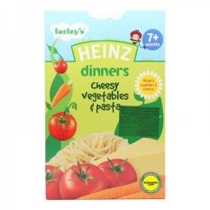 Heinz Dinners Cheesy Vegetable and Pasta 100gr - 7m+